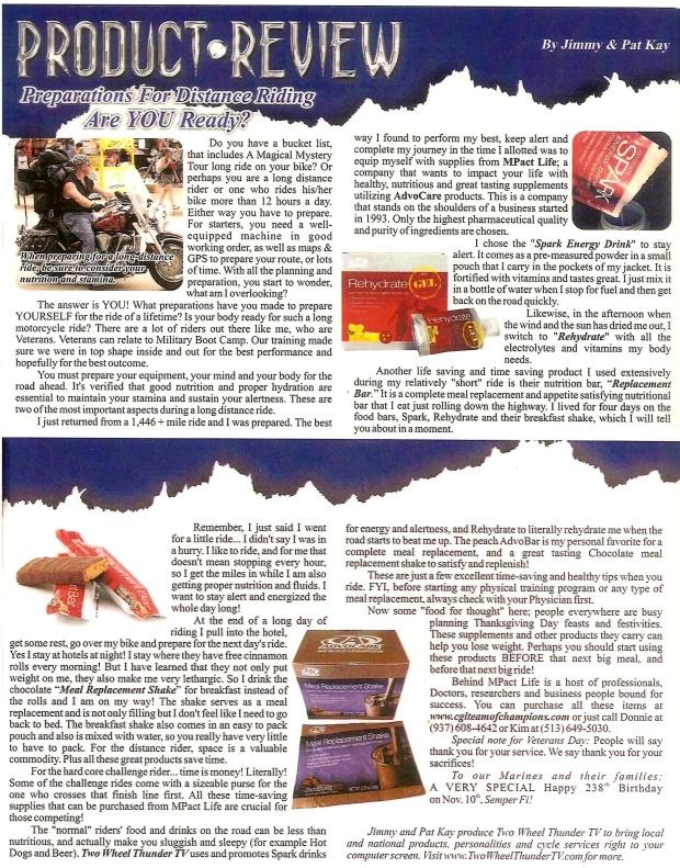 Pat Kay Article